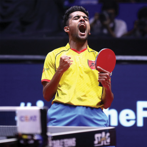 Sanil Shetty:  International Pro Table Tennis Player Gold Medallist - Commonwealth Games 2018 Ultimate Table Tennis Champion